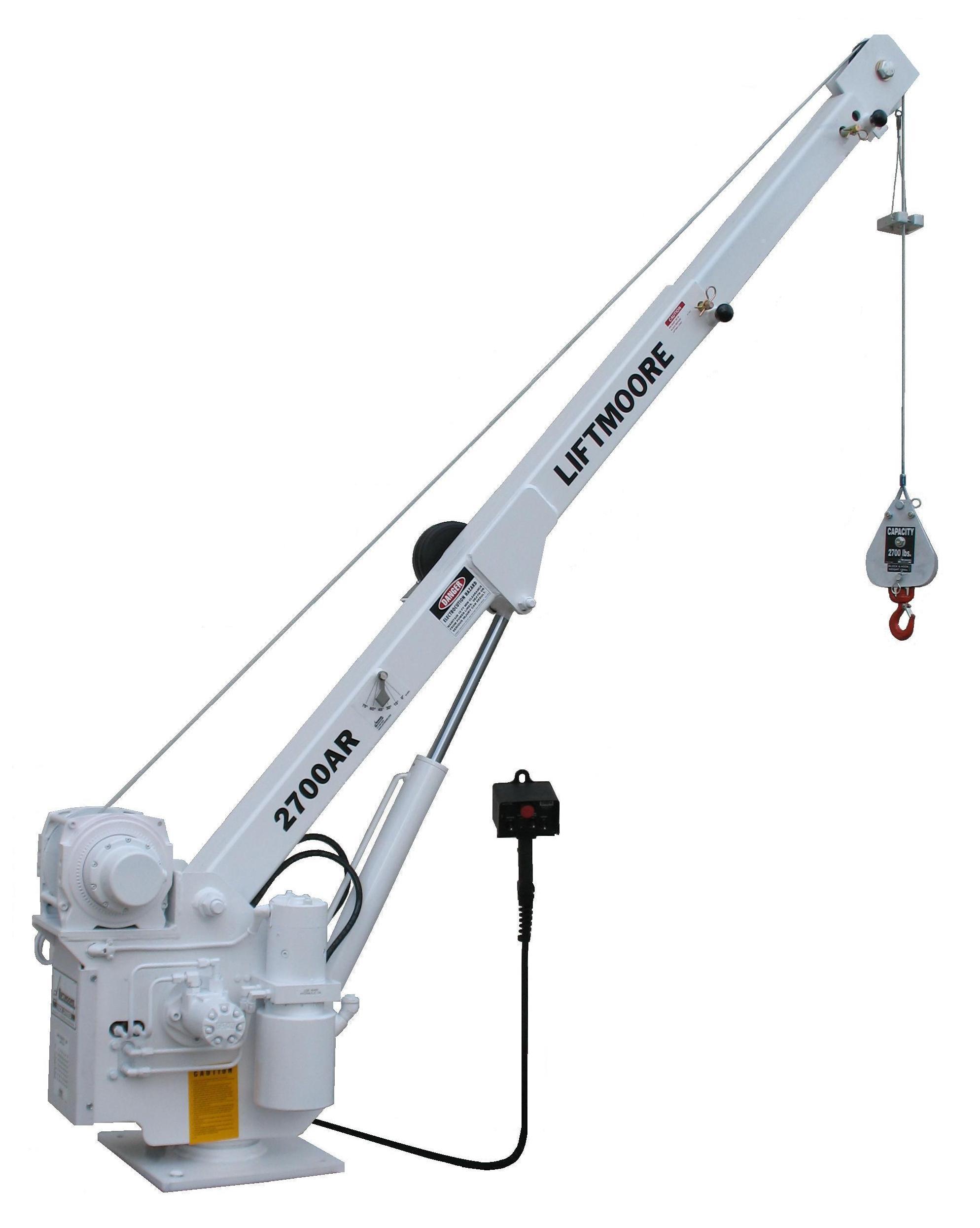 Premium Electric And Hydraulic Cranes Scientific Brake
